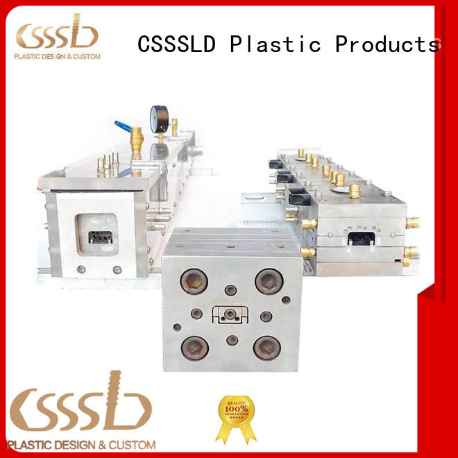 cost-effective Plastic mold customized for extrusion profile