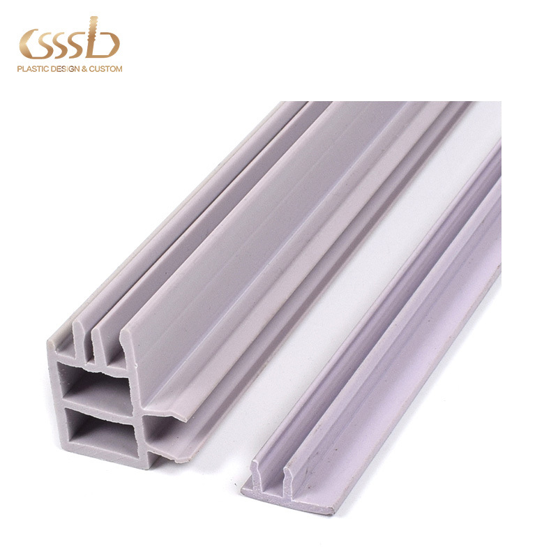 Flame Ressistant PVC Profile for Installation Lines