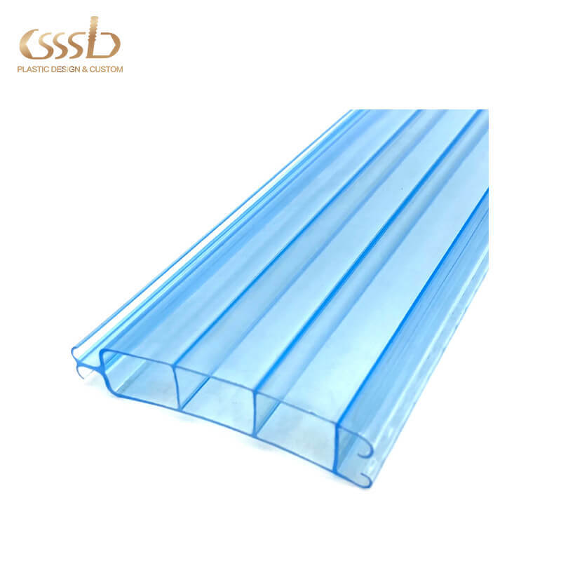 Polycarbonate roller shutter profile