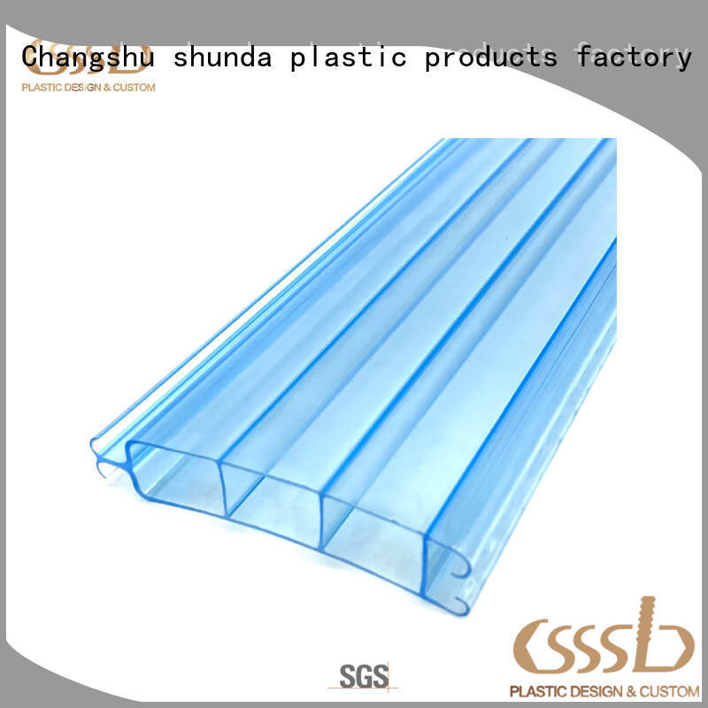 durable PVC profile extrusion at discount for installation lines