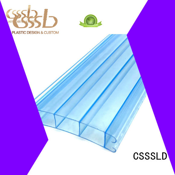 CSSSLD durable Plastic angle extrusion customized for installation lines