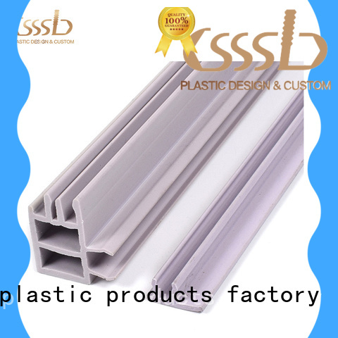 good quality Plastic angle extrusion overseas market for advertise display