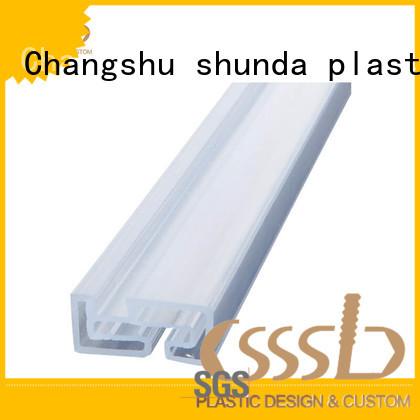 CSSSLD Plastic extrusion profile vendor for installation lines