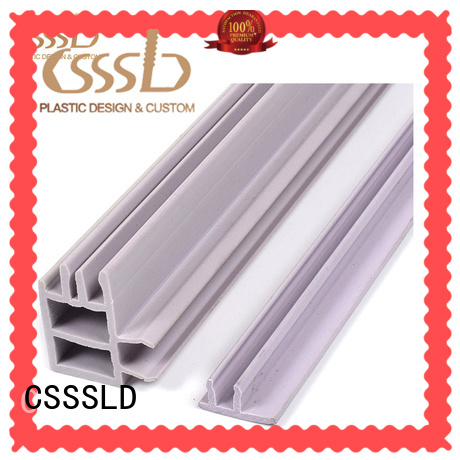 CSSSLD PVC profile extrusion overseas market for light cover