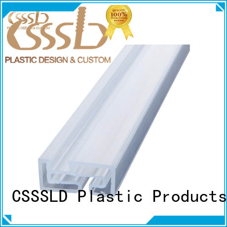 durable Plastic angle extrusion vendor for light cover