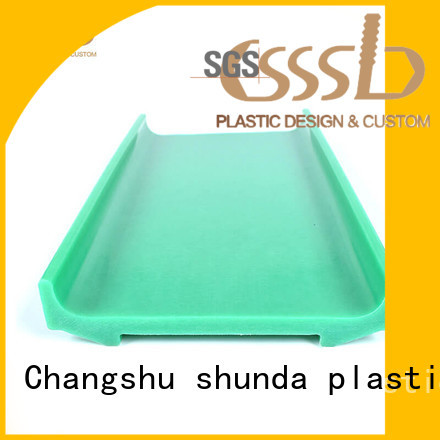CSSSLD durable PVC profile extrusion bulk production for installation lines