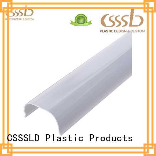 widely used Plastic extrusion profile vendor for light cover