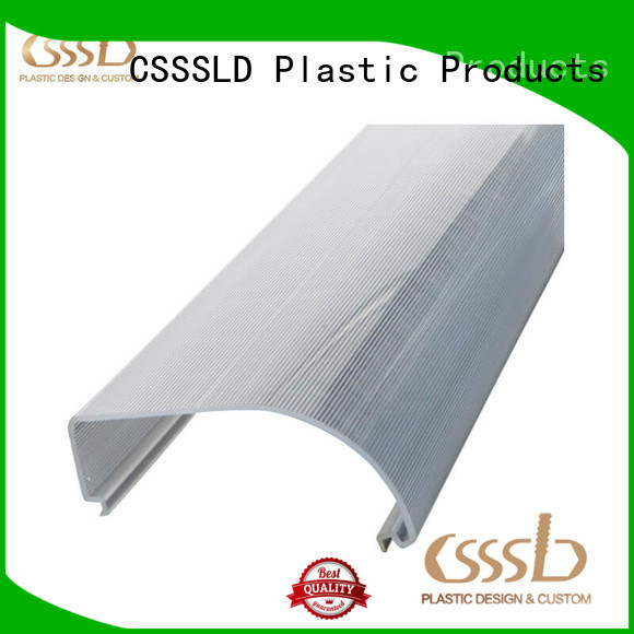 CSSSLD PVC wire channel customized for advertise display