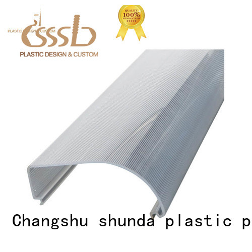 CSSSLD good quality PE profile bulk production for advertise display
