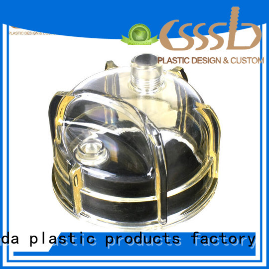 CSSSLD injection molded parts marketing for fuel filter cartridge
