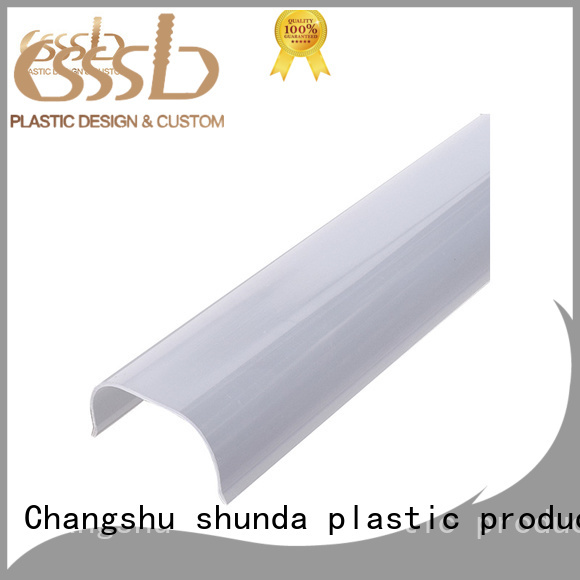 CSSSLD inexpensive PVC profile extrusion overseas market for light cover
