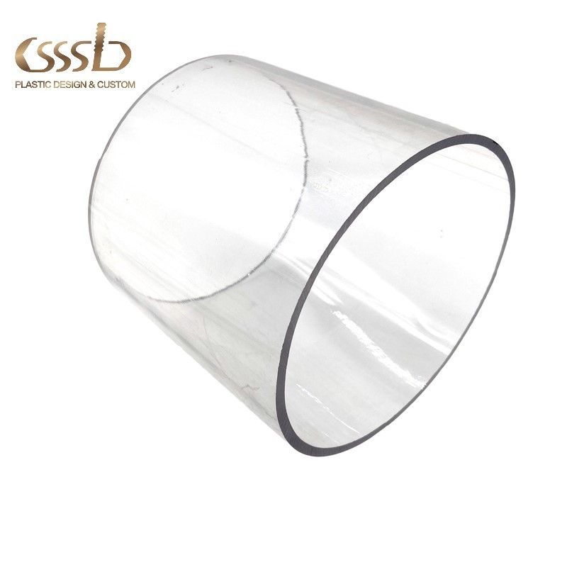 High transparent Polycarbonate tube 250mm diameter