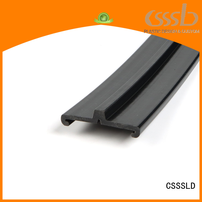 CSSSLD good quality Plastic extrusion profile customized for light cover