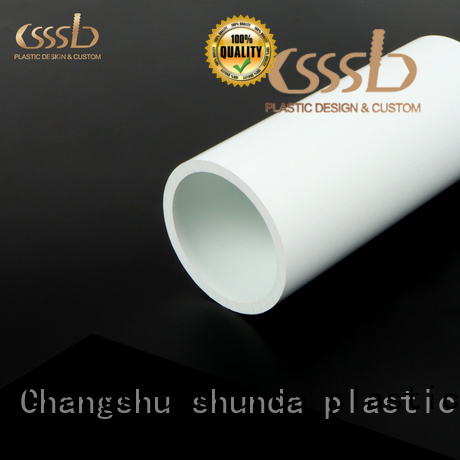durable plastic packing tube oem for drainage